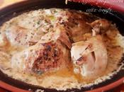 Tajine poulet oeufs...