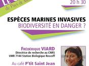 Espèces marines invasives biodiversité danger