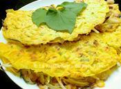 Crêpe vietnamienne farcie crevettes porc (Bánh xèo)