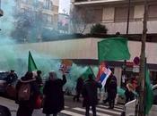 VIDÉO+PHOTOS. Retour manifestation pro-verts devant l'ambassade Libye Paris