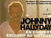 tournée l'étranger pour Johnny Hallyday.