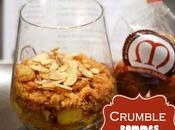 Crumble pommes kouign amann