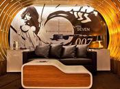 chambre d'hôtel James Bond coeur Paris