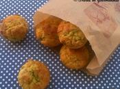 Muffins asperges vertes Cantal