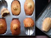 Madeleines Commercy fourrées pâte tartiner