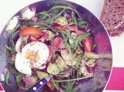régale papilles salade composée bacon