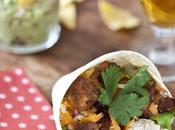 Burritos caliente, aïe, aïe: burritos sandwichs poulet pimenté!