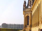 Coucher soleil Grandes Ecuries Domaine Chantilly (Oise)
