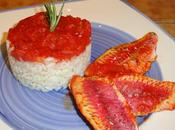 Filets rougets four, tomates, blanc