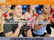 sport-en-entreprise.com nouveau site VIPTRAINERS dédié entreprises