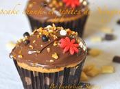 Cupcakes Chunks-pépites Nougatine nappage Nutella