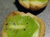 Tartelettes kiwi/citron