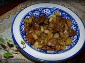 Poelée foie pomme terre garam massala