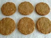 cookies diététiques complets avoine orge beurre cacahuète (sans sucre sans oeufs)