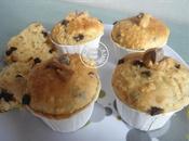 Muffins beurre cacahuète pépites chocolat