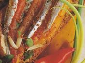 Anchois marinés pimentés toasts
