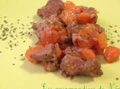 Sauté porc oignons carottes