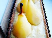 Tarte poires, bergamote, pavot, vanille, huile d'olive ....