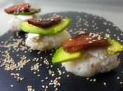 Sushi poulet caramélisé Melfor avocat saint môret sésame