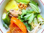 Soupe aigre-douce poisson (canh chua