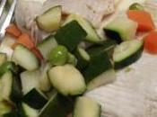 Tres dietetique raie legumes croquants