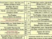 Musicales l'Œuvre Jaumont