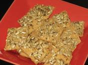 Crakers graines farine pois chiche