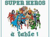 Super héros héroïnes, table avec Charlie Jasmin