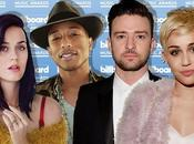Billboard Music Awards 2014 Justin Timberlake, Miley Cyrus, Katy Perry, Pharrell sont favoris