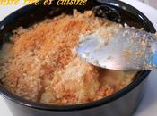 Cassolettes cabillaud crevettes gratinées