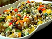 Salade couscous marocain avec legumes grillés