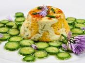 Timbales fleurs courgettes brousse brebis