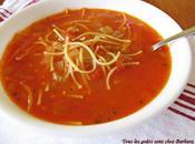 Soupe tomates vermicelles classique clin d'oeil