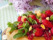 Menu Pâques: Baba rhum, crème montée fruits rouges...