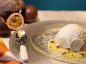 Dôme coco passion carpaccio mangue
