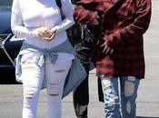 Kris Jenner, Kylie Jenner Khloe Kardashian Angeles 29.04.2014