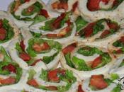 Mozzarella Roulée, Tomates Laitue