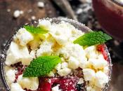 vendredi c'est retour vers futur… Frozen Yogurt fruits rouges menthe