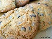Cookies beurre cacahuètes pépites chocolat