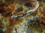 Clafoutis saumon poireau