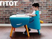 titot elephant chair table kids