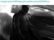 première image Affleck Batman avec Batmobile tournage Superman