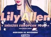 Lily Allen, tournée française vente