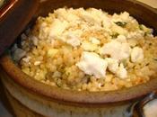Couscous marocain pommes, menthe feta