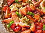 Tarte cheesecake fraises pistache: lundi c'est permis... d'apporter tarte boulot grâce d'Herta (concours inside)