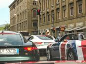 MOTEUR E-TV départ Mille Miglia Jaguar