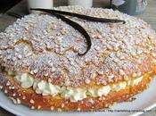 Tarte Tropézienne, fleur d'oranger vanille Tahiti