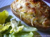 Pommes terre farcies fromage lardons