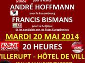 ELECTIONS EUROPEENNES 2014 ACTION TRANSFRONTALIERE BELGIQUE FRANCE LUXEMBOURG L'Europe Peuples, transfrontalière Mardi