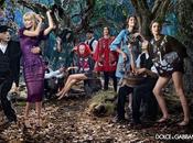 Claudia Schiffer nouvelle égérie campagne hivernale Dolce Gabbana...